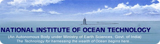 NIOT National  Institute of Ocean Technology
