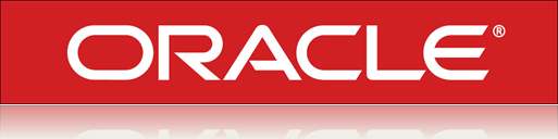 Oracle logo red white