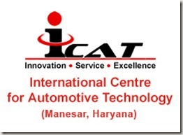 ICAT International Centre For Automotive Technology