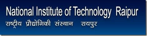 NIT National Institute of Technology Raipur