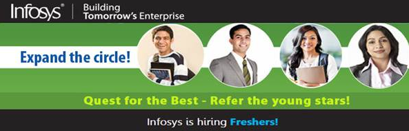 Infosys referral drive