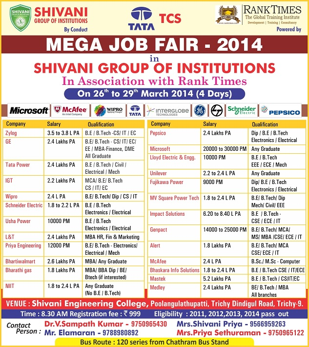 Shivani Job Fair